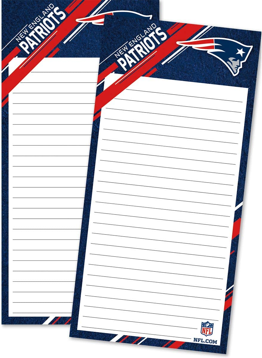 Turner Sports New England Patriots 2 Pack List Pad (8129101)