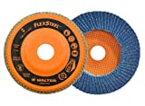 Walter 15W708 FLEXSTEEL Flap Disc [Pack of 10] - 80