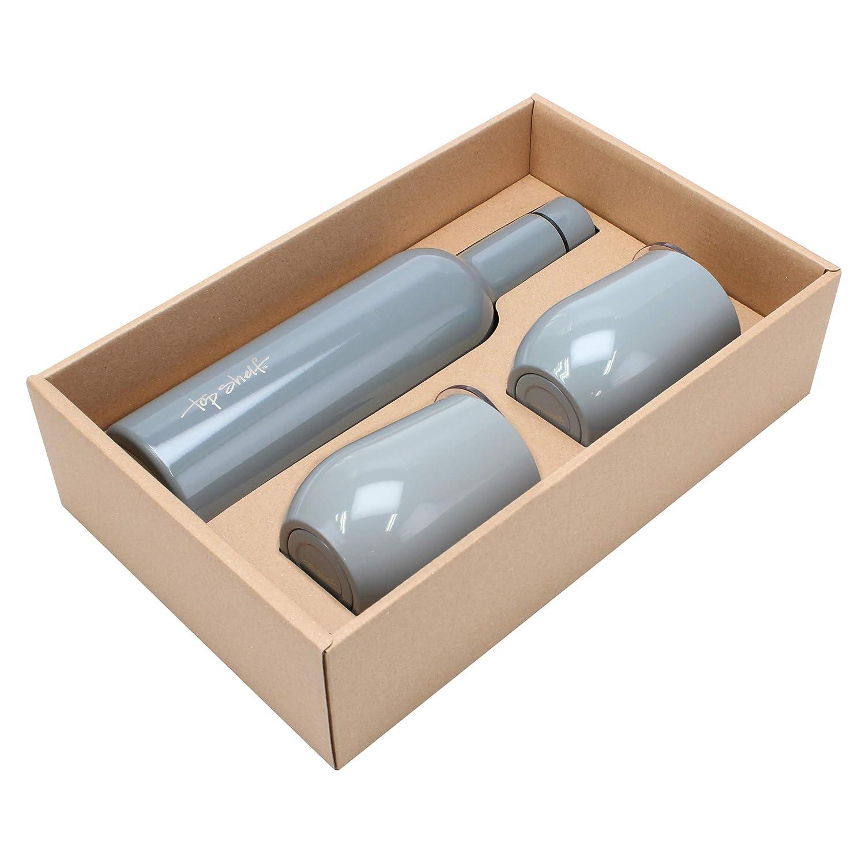 Stonebriar Wine Growler 750 ml Gray