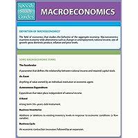 Macro-Economics (Speedy Study Guides: Academic)