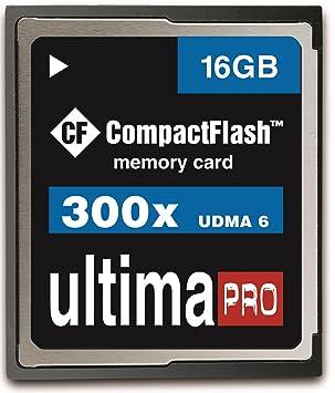 16 GB 45MB Memzi/s - 300 x Ultima Pro Compact Flash tarjeta de ...