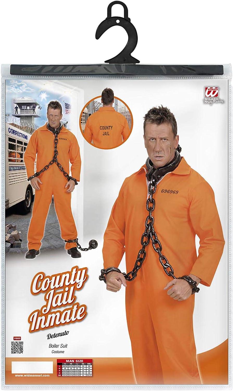 Amazon.com: County Jail Inmate Costume grande para Cárcel ...