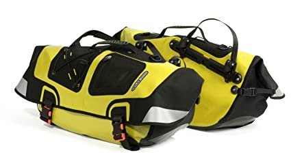 Amazon.com: Ortlieb Recumbent Bike Pannier Amarillo/Negro ...