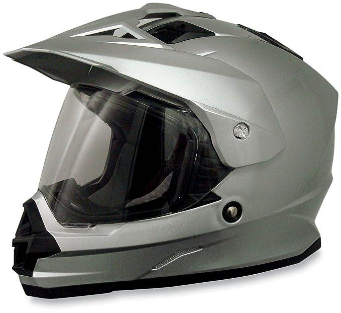 AFX FX-39 Unisex-Adult Full-Face-Helmet-Style Dual Sport Helmet (Flat Black, XX-Large)
