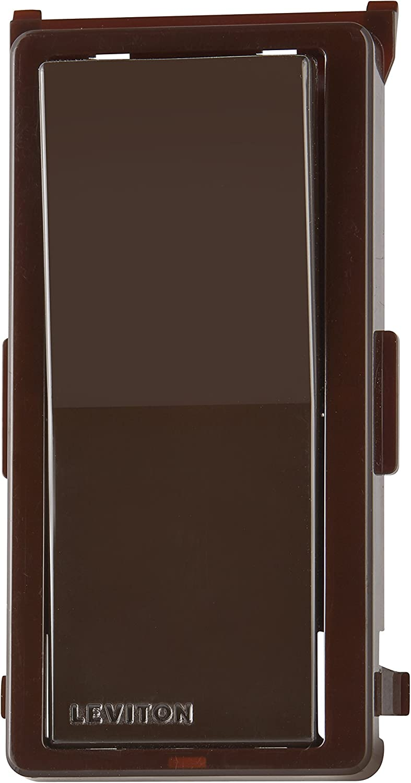 Leviton DDKIT-SB Decora Digital/Decora Smart Switch Color Change Kit, Brown