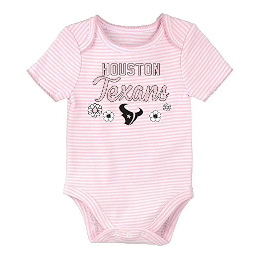 bba70f54 Amazon.com: NFL Team Apparel Houston Texans Girl's Infant One Piece ...