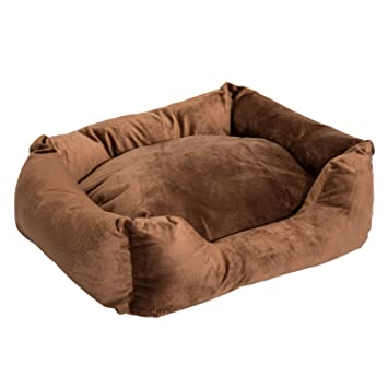 Amazon Com Pawhut 24 Indoor Electric Heated Dog Bed With