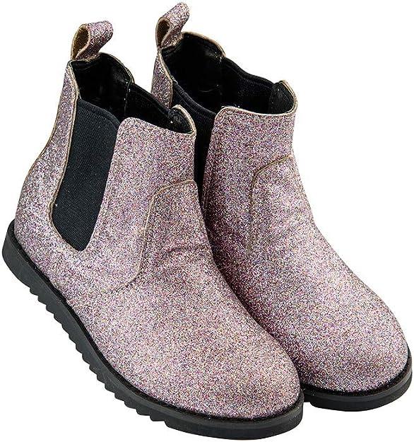 YUBUKE Boys Snow Boots Outdoor Waterproof Winter Kids Shoes Warm Boots