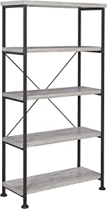 Coaster Home Furnishings CO- Bookcase, Grey Driftwood