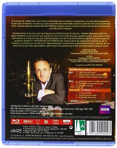 Historia De La Ciencia (BD + DVD) [Blu-ray]: Amazon.es: Michael Mosley, Adam Rutherford, Andrew Thompson, Auson Rooper, Nick Jordan, Michael Mosley, Adam Rutherford, Aidan Laverty: Cine y Series TV