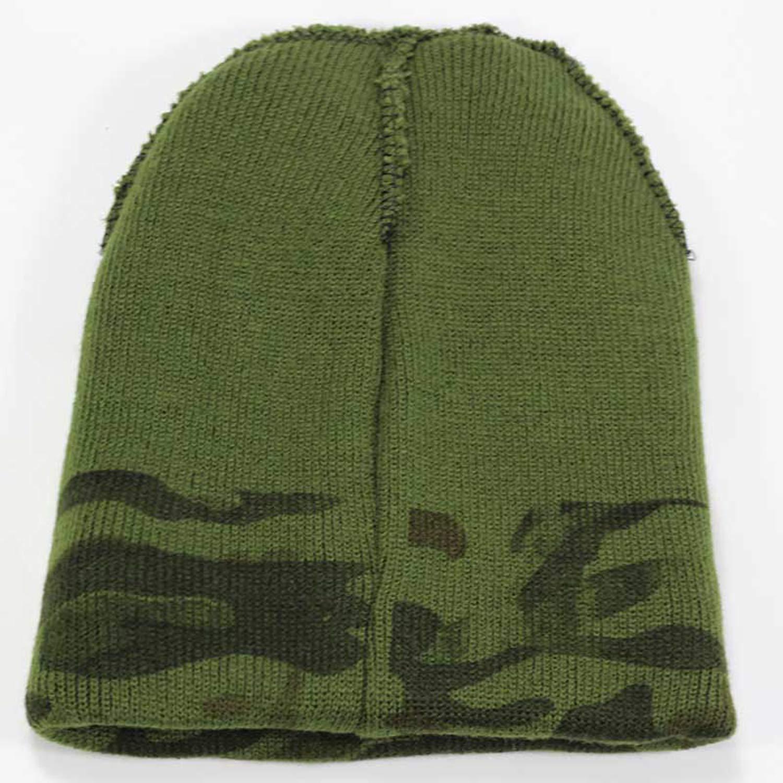 a1b2641c6 Amazon.com: LONIY Winter Men's Knit Camouflage Hats Brand Winter Ms ...