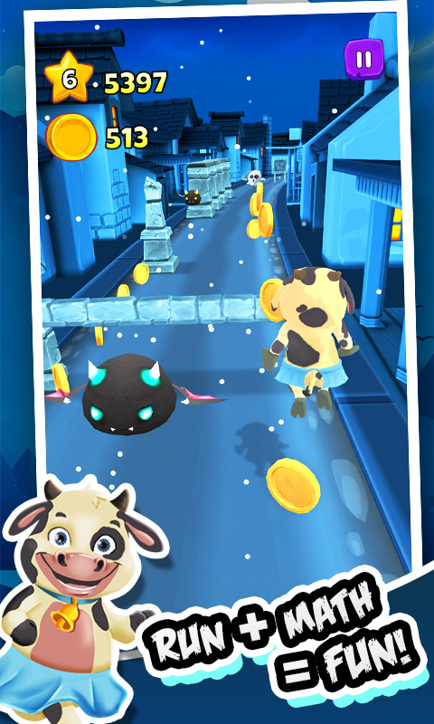 Amazon Com Toon Math Endless Run And Math Games Be A Ninja And Beat The Monster In This Super Cool Math Game As A Runner In This Free Endless Running Adventure You