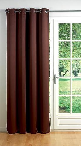 Blackout Window Curtain Panel Square Grommets