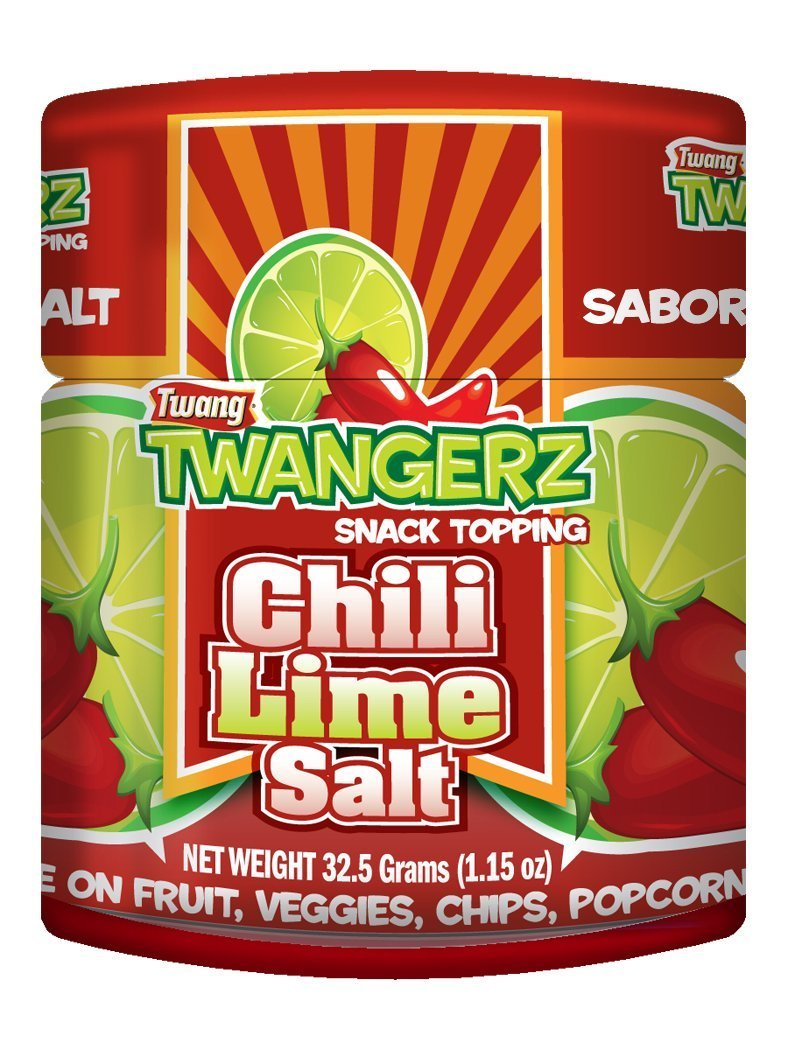 Twangerz Chili Lime Salt - 1.15 Oz Shakers - (20 Pack) by Twang