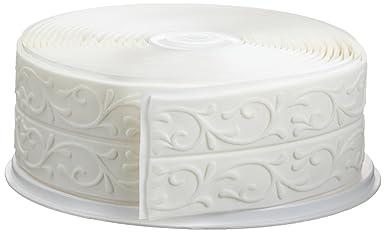 Cake Company Fondantrand 5m 5cm weiß? Doppelte Ranke 1er Pack (1 x 700 g)
