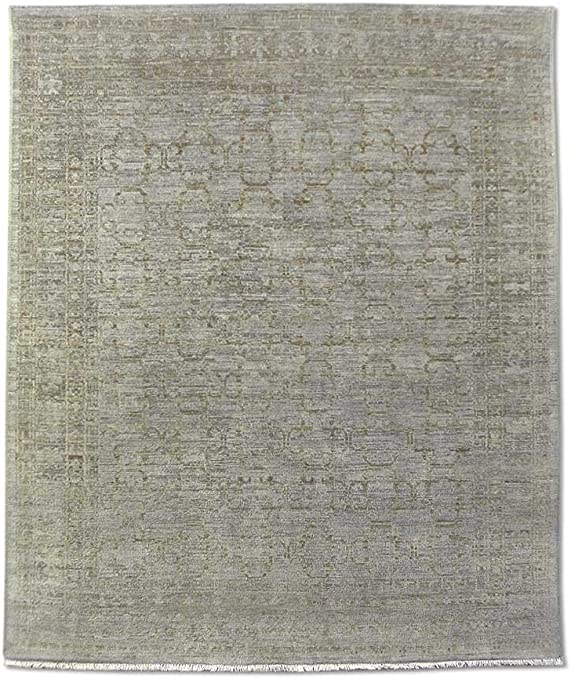 Pak - Alfombra de algodón persiana (Madera de Lana, 195 x 235 cm ...
