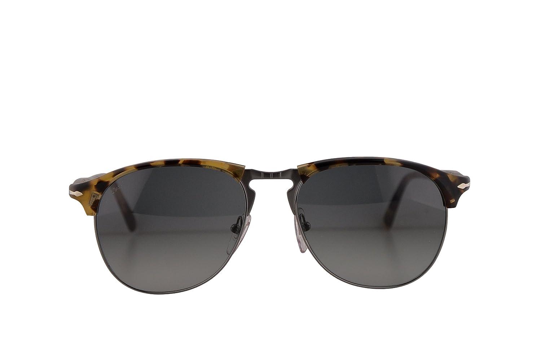 9a5bfc95ca3 Amazon.com  Persol Sunglasses PO8649S Brown Beige Tortoise w Grey Gradient  Lens 56mm 105671 PO8649 PO 8649S PO8649-S PO 8649-S  Clothing