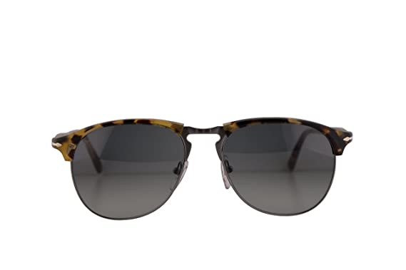 df3d1f462d109 Image Unavailable. Image not available for. Color  Persol Sunglasses  PO8649S Brown Beige Tortoise w Grey Gradient Lens 56mm ...