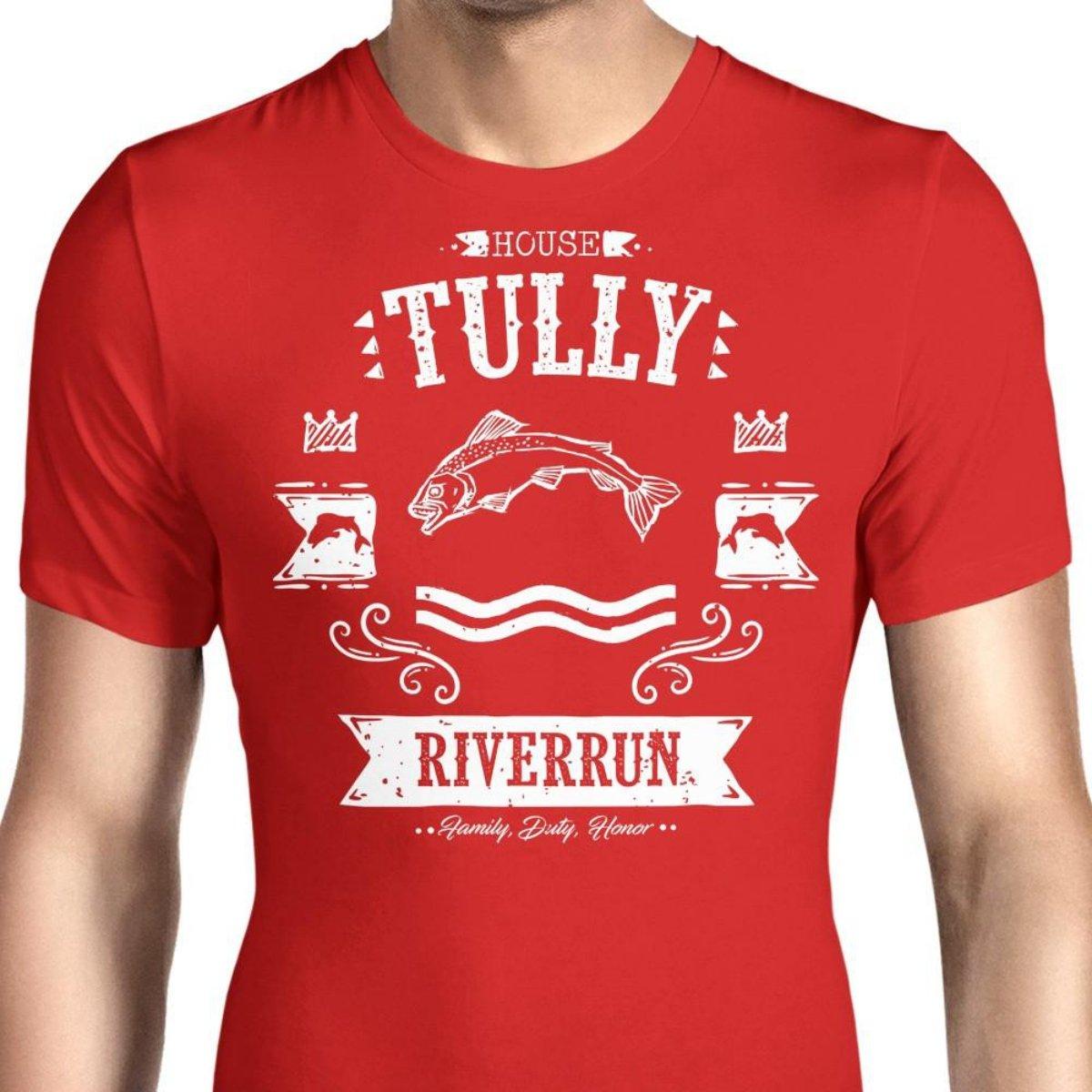 HONGRONG Mens The Silver Trout Unique Design Tshirt Fashion Tee