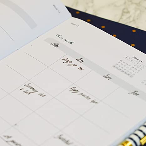 Busy B 8120 2019 Family Diary with Need-to-Know Numbers