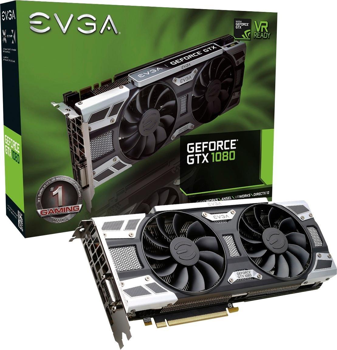 EVGA - NVIDIA GeForce GTX 1080 8 GB GDDR5 - PCI Express 3.0 ...
