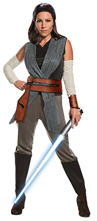 Amazon rubies star wars episode viii the last jedi womens rubies star wars episode viii the last jedi womens deluxe rey costume as shown small solutioingenieria
