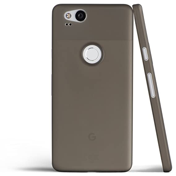 on sale 4ba9a 04e11 totallee Pixel 2 Case, Thinnest Cover Premium Ultra Thin Light Slim Minimal  Anti-Scratch Protective - for Google Pixel 2 (Grey)