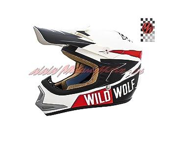 Casco Shiro Cross Kids MX-306 Wild Wolf (M)