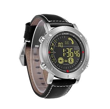 ML Reloj Digital Deportivo para Hombres Reloj Masculino y Femenino Reloj con Control Remoto Bluetooth recordatorio podómetro Luminoso multifunción Reloj a ...