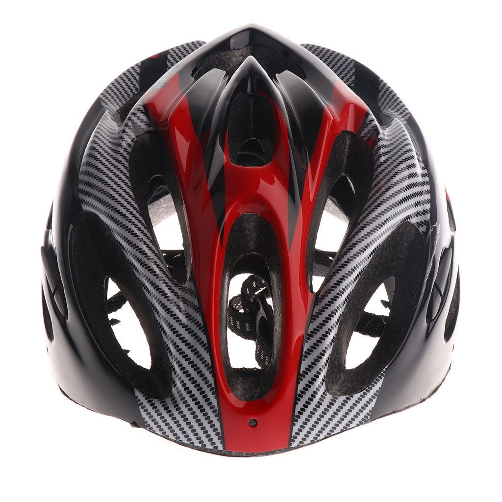 Fityle Bicycle Cycling Helmet Mountain Bike Helmet Cycling Equipment for Men Women - Red, as described