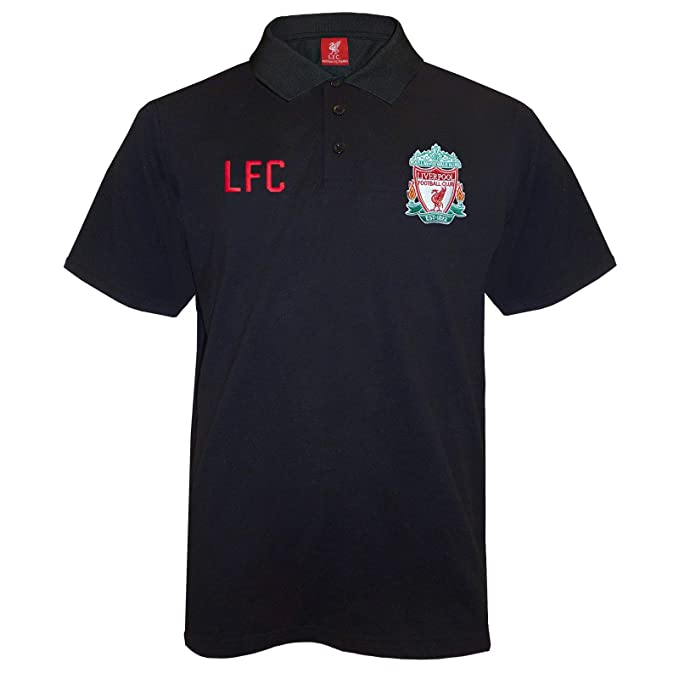 Liverpool FC Official Football Gift Mens Crest Polo Shirt  Amazon.co.uk   Clothing 801d34ac2