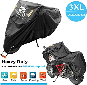 Mobility Scooter Large Waterproof Motorcycle Cover Motorbike Bike Shelter