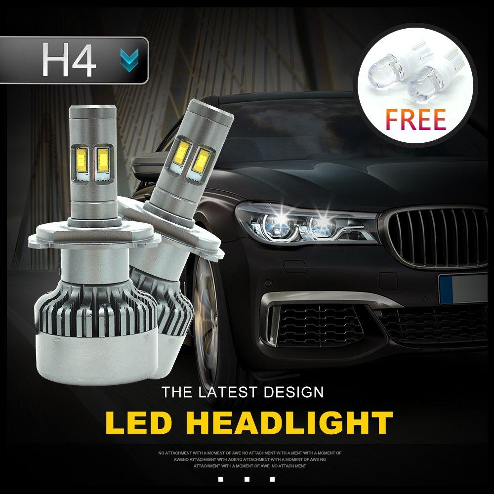 H7 LED HeadLight Kit, 110 W Seoul CSP Chips 12000LM H7 Kit conversione LED Lampadina faro Conversione Alogena Light Canbus 6500K 12V-36V FSGT