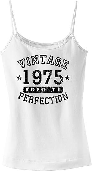 TooLoud 1975 Vintage Birth Year Mens Ribbed Tank Top Brand
