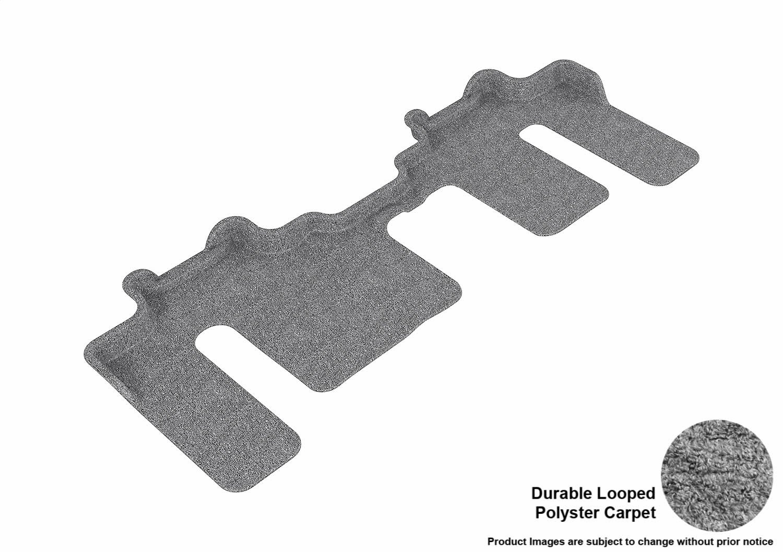 L1MZ01732202 Tan Classic Carpet 3D MAXpider Third Row Custom Fit Floor Mat for Select Mazda CX-9 Models