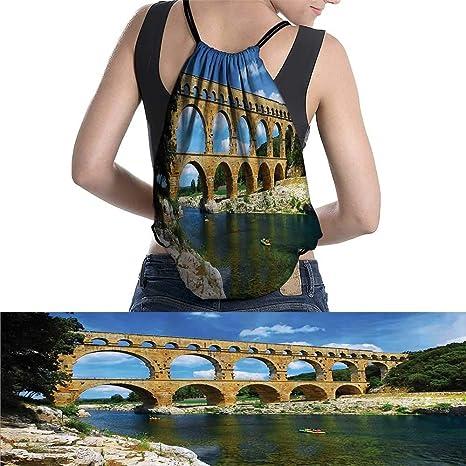 L Male Sky - Mochila Impermeable para Mujer, diseño de Torre Eiffel FEA