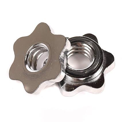 """1 """"estándar peso levantamiento pesas mancuernas bar Spin-lock abrazadera de ..."""