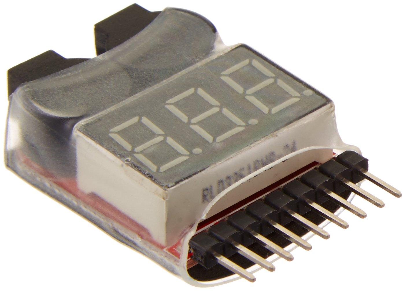RioRand RC Model Hop-ups C23212 LiPo Voltage Checker + Warning Buzzer