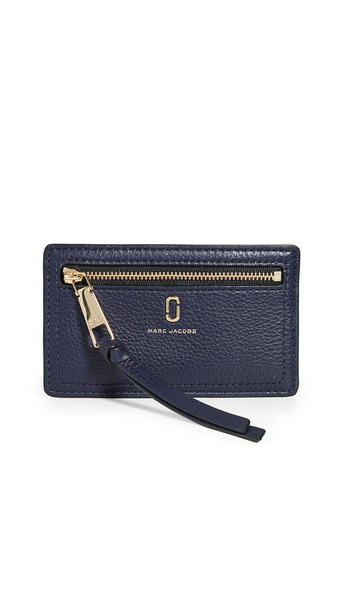 Marc Jacobs Women's Card Holder, Navy, Blue, One Size by Marc Jacobs