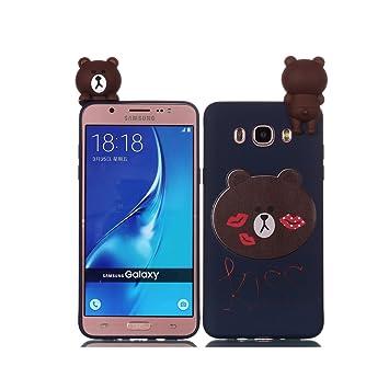 de-Meet Carcasa Samsung Galaxy J5 2016/J510, Slim Protección ...