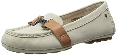 UGG Womens Aven Moccasins In Antique White 5.5 US
