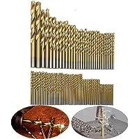 Hakkin 99 Piezas Taladro Micro Set de titanio