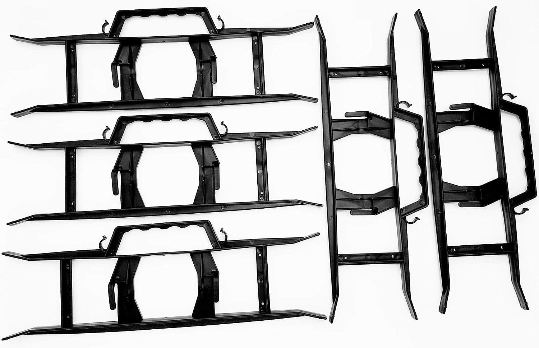 Burntwood Bouncy Castle Supplies Lot de 5 supports de guirlandes lumineuses de No/ël Outil de jardin