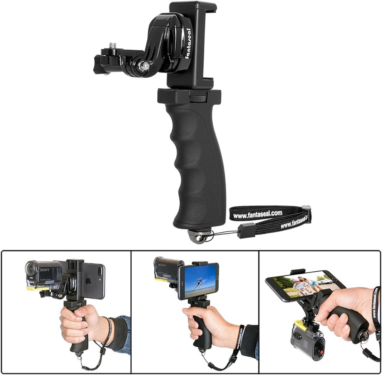 Vertical Shoe Mount Stabilizer Handle FinePix S4050 Pro Video Stabilizing Handle Grip for FujiFilm FinePix S4000