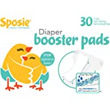 Sposie Booster Pads Diaper Doublers, 30 Pads