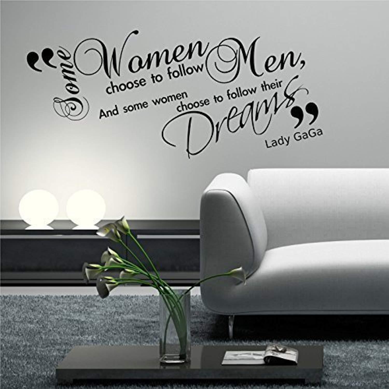 Amazon com: Lady GAGA Quote Phrase Stencil Graphic Transfer