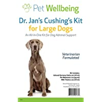 Pet Wellbeing - Dr. Jan's Cushing's Kit for Large Dogs - Natural Support for Excess...