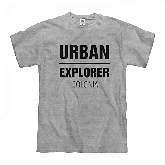 ORG Urban Explorer Colonia: Unisex Fruit of The Loom Midweight T-Shirt