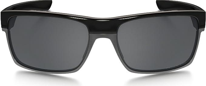 Oakley TwoFace Sunglasses Polished Black/Black Iridium, One ...