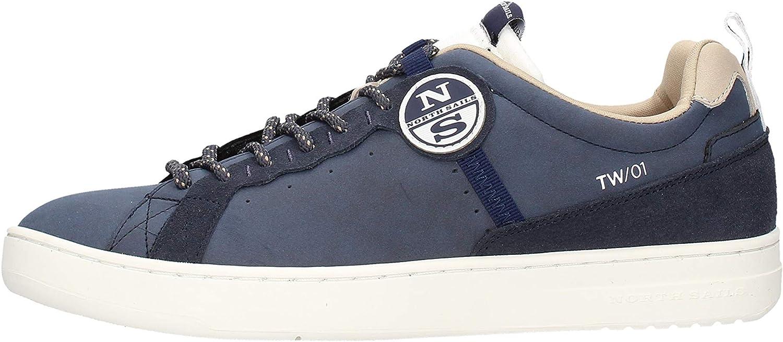 NORTH SAILS TW-01 Nabuk - Zapatillas deportivas de color azul marino 0-1, talla 43, color azul marino